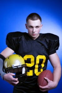 types of youth football equipment