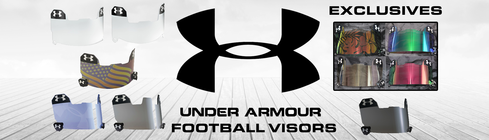 Under Armour Football Visors