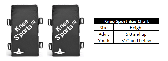 Catcher's Knee Sports Fitting Guide