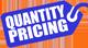 Quantity Pricing