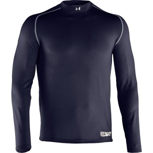 Under Armour 1235626 Men's UA Diamond Armour High Crew Long Sleeve Shirt