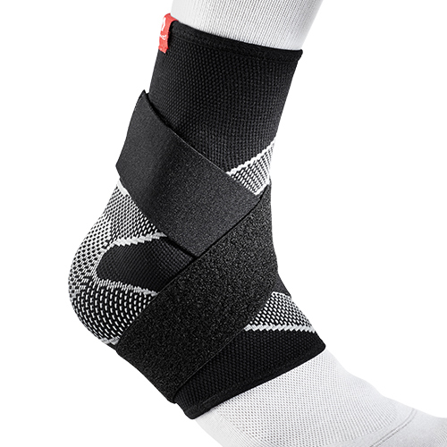 McDavid 5122 Ankle Sleeve with 4-way elastic and figure-8 straps