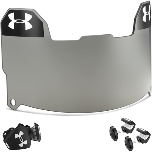 Under Armour 60 Percent Gray Football Visor