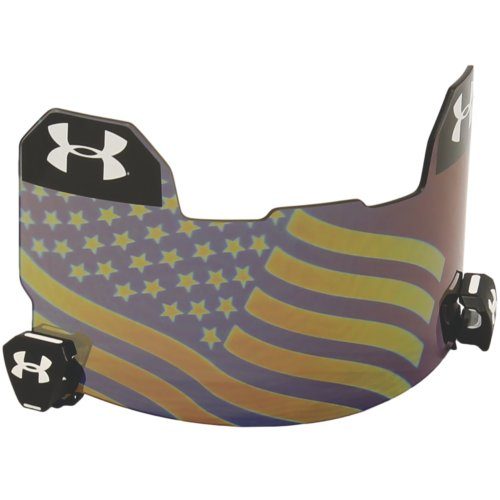 Under Armour Football Visor - American Flag Hologram