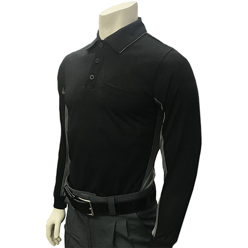 Smitty Major League Style BODY FLEX Long Sleeve Umpire Shirt