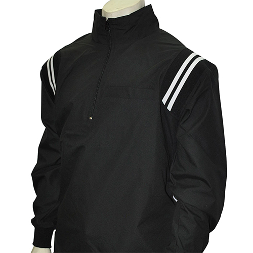 Smitty MLB Style Microfiber Half Zipper Pullover Umpire Jacket