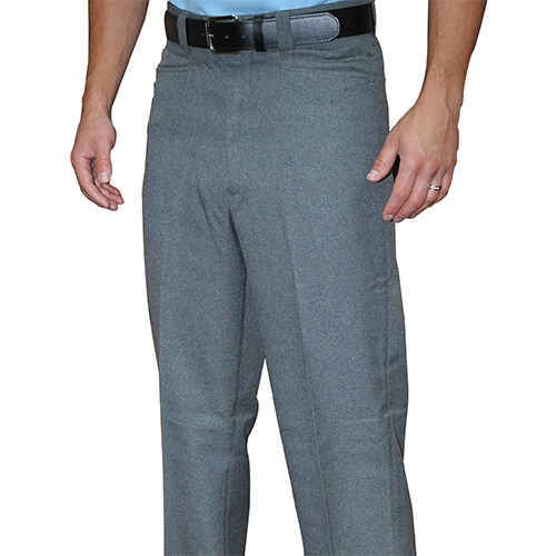 Smitty Flat Front Woven Polyester Umpire Plate Pants with Western Pockets