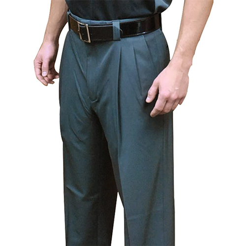 Smitty Expander Waistband 4-Way Stretch Pleated Umpire Base Pants