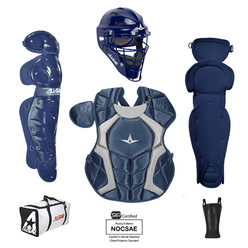 All Star CKCC79PS NOCSAE Approved Youth Player Series Catchers Kit