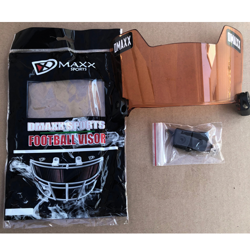 Dmaxx Football Eyeshields - Orange