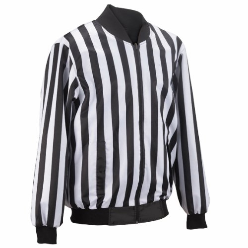 Smitty Football Officials 1-Inch Stripe Reversible Jacket