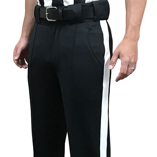 Smitty Football Officials Tapered Fit 4-way Stretch Poly/Spandex Pants