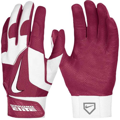 Nike Batting Gloves Canada: Nike GB0335 Men's Diamond Elite Pro II Batting Glove