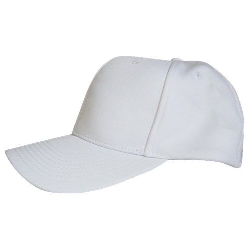 Smitty Stretch-Fit Referee Hat - Solid White