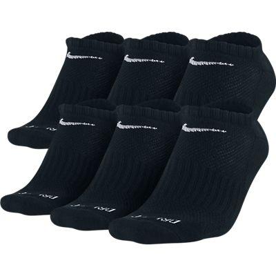 Nike 6 Pack Dri-Fit No Show Socks - Youth