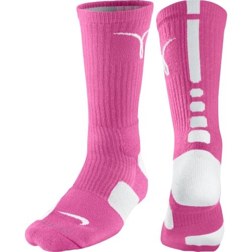 Amazoncom nike elite socks pink