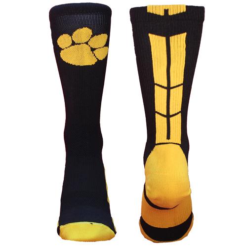 TCK Baseline 3.0 Paw Logo Athletic Crew Socks (Multiple Colors Available)