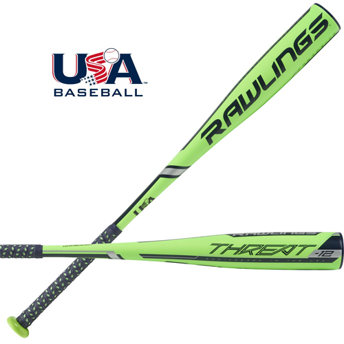 Rawlings 2019 Threat Usa Baseball Bat 12 Us9t12