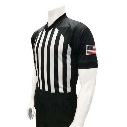 Smitty Men's NCAA Basketball Body Flex Referee Shirt - Made in The USA