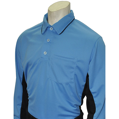 Smitty Major League Style Long Sleeve Umpire Shirt - Performance Mesh Fabric