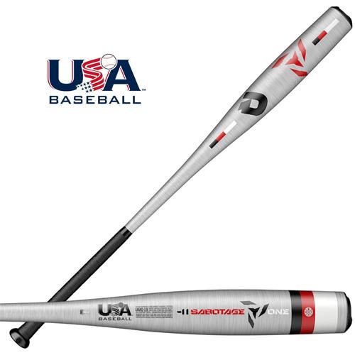 Demarini 2019 Sabotage -11 USA Baseball Bat