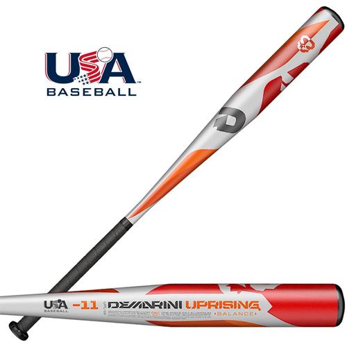 Demarini 2019 Uprising -10 Youth Big Barrel USA Baseball Bat