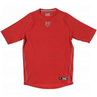Under Armour 1235589 Men's UA Diamond Armour Baseball Short Sleeve Baselayer
