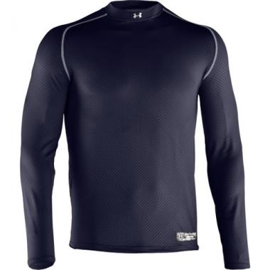 Under Armour 1235626 Men's UA Diamond Armour High Crew Long Sleeve Shirt
