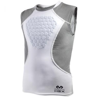 McDavid 7610 Youth Hex Pad Sternum Heart Guard Shirt