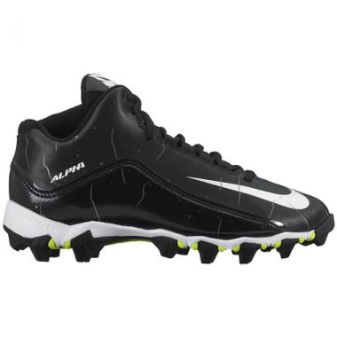 Nike Youth Alpha Shark 2 3/4 Football Cleats (Wide)
