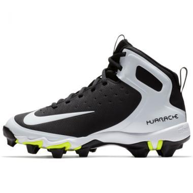Nike Boy's Alpha Huarache Keystone Mid Baseball Cleat