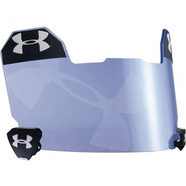 Under Armour Football Eye Shield Blue Mirror Hologram Football