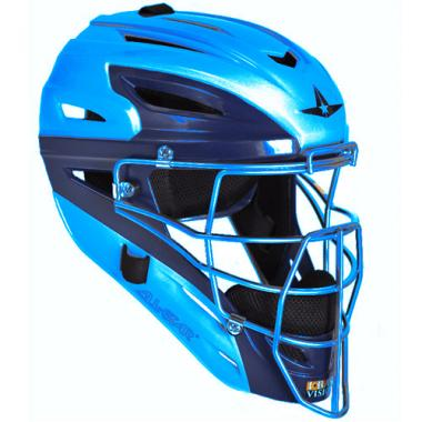 20f6f626d69a3e All-Star MVP2500 System 7 Adult Catcher's Two Tone Head Gear ...