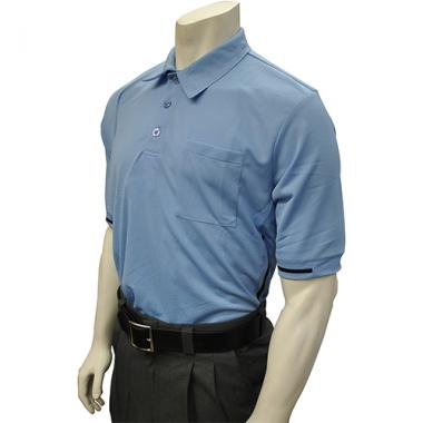 Smitty Major League Style Umpire Shirt with Piping - Performance Mesh Fabric