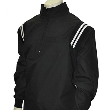 Smitty MLB Style Microfiber Half Zipper Pullover Umpire Jacket