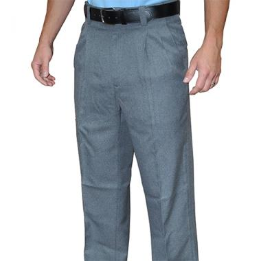 Smitty Pleated Woven Polyester Umpire Combo Pants with Slash Pockets