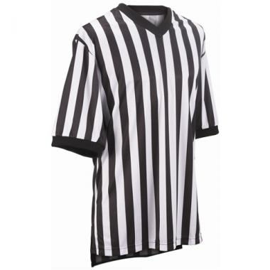 Smitty Basketball Officials Warpknit Polyester V-Neck Shirt