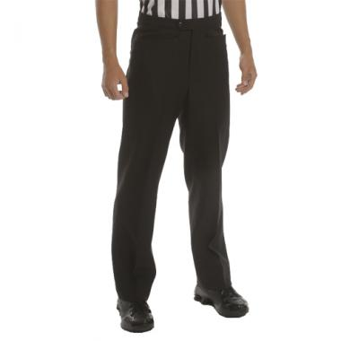 Smitty Men's Basketball Flat Front Officials Pants - Western Cut Pockets