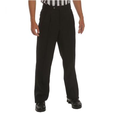 Smitty Men's Basketball Pleated Front Officials Pants - Slash Pockets