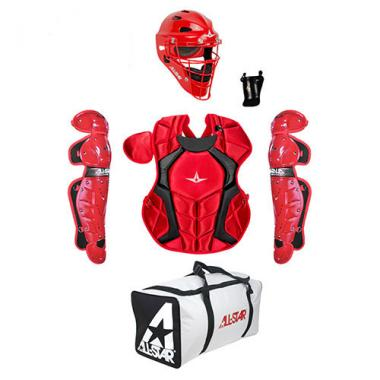 All Star CKCC912PS NOCSAE Approved Junior Two Tone Player Series Catchers Kit