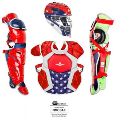 All Star CKCC1216S7X NOCSAE Approved Pro Junior System Seven Catchers Kit
