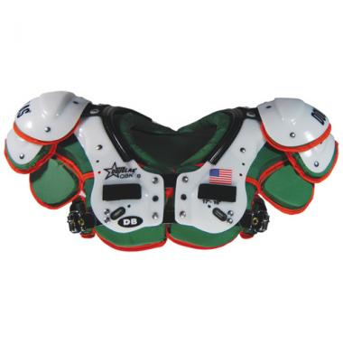 Douglas Custom CP QB/K DB Shoulder Pads