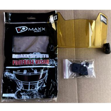 Dmaxx Football Eyeshields - Yellow