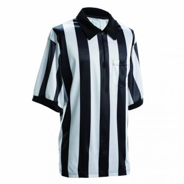 Smitty Football Officials 2-Inch Stripe Shirt - Short Sleeve