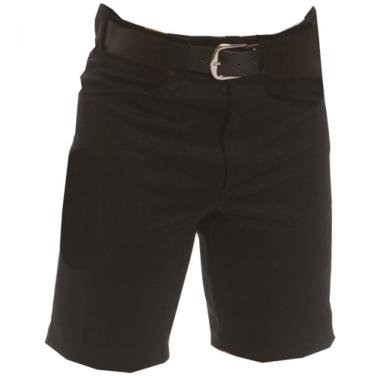 Smitty Football and Lacrosse Officials Shorts - Solid Black