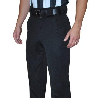 Smitty Lacrosse Officials 4 Way Stretch Pants - Solid Black