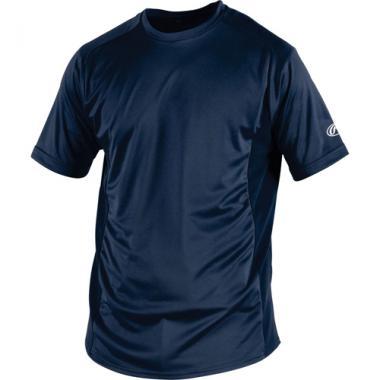 Rawlings Adult Short Sleeve Crew Neck Performance Shirt