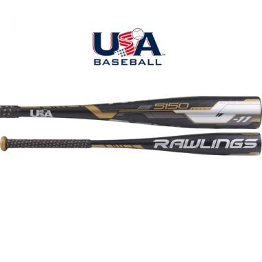 Rawlings 2018 5150 USA Youth Baseball Bat (-11)
