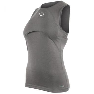 EvoShield Women's Racerback Chest Guard Sleeveless Shirt