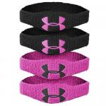 Under Armour 1/2 Oversized Wrist Bands - Pink
